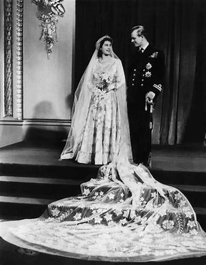 Image result for hm the queen marriage images