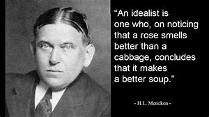 Image result for H L. Mencken Quotes