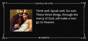 Image result for Quotes of Saint Camillus De Lellis