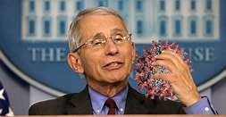 Image result for Sinister Images of Dr. Fauci. Size: 170 x 88. Source: <a href=