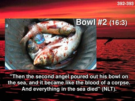 Image result for the second angel poured out his bowl