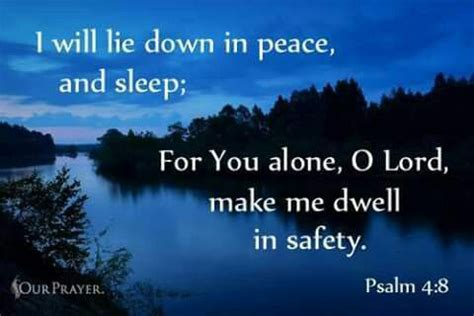 Image result for Psalm 4:8