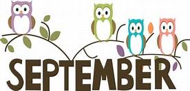 Image result for September Logo Clipart. Size: 262 x 133. Source: www.susansdailydose-2012.com