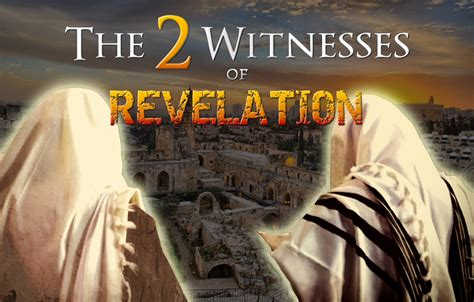 Image result for the 2 witnesses in the book of revelation