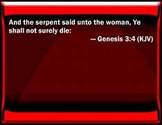Image result for Genesis Bible Verse Genesis 3:4