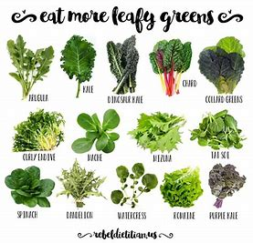 Image result for picture of leafy green vegetables