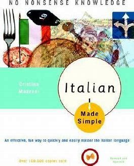 Image result for italian made simple book