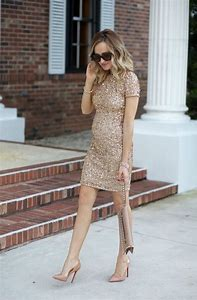 Image result for dress with nude pumps