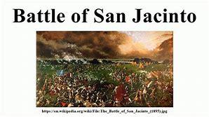 Image result for Battle of San Jacinto