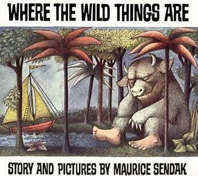 Image result for Images Book Cover Where the Wild Things Are