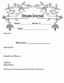 Image result for Handmade dream Journal format Ideas