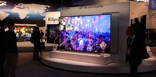 Image result for Largest LCD TV 2020. Size: 322 x 160. Source: www.gearbrain.com