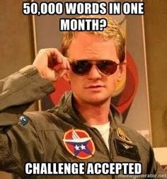 Image result for NaNoWriMo Memes