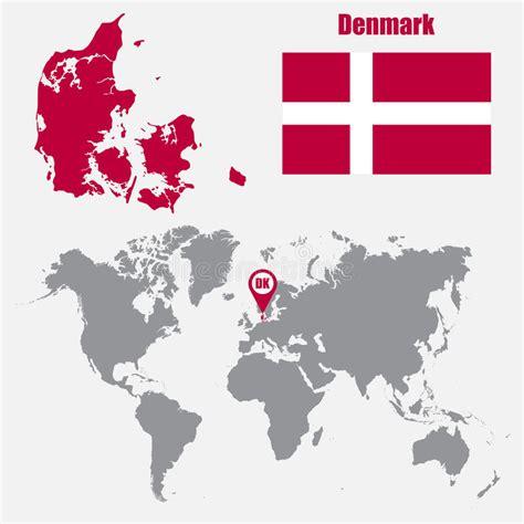 Image result for denamrk on map
