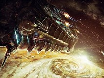 Image result for Spaceship Battle. Size: 214 x 160. Source: wallpapersafari.com