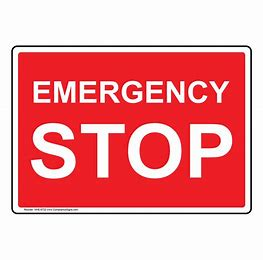 Image result for Emergency Sign