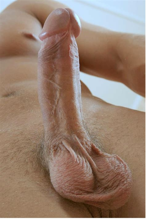 Large shaved penis-safilholsko