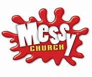 Image result for Messy Church logo. Size: 124 x 105. Source: stmarysdalkeith.org.uk