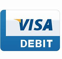 Image result for visa debit sign