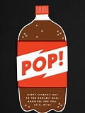 Image result for bottel of pop. Size: 120 x 160. Source: www.paperlesspost.com