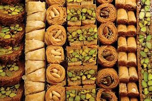 Image result for image arabian sweetmeats