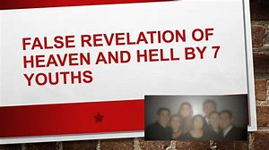 Image result for a revelation of heaven a revelation of hell