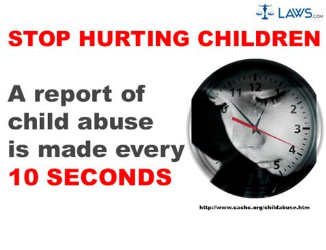 Image result for put a stop to hurting of children