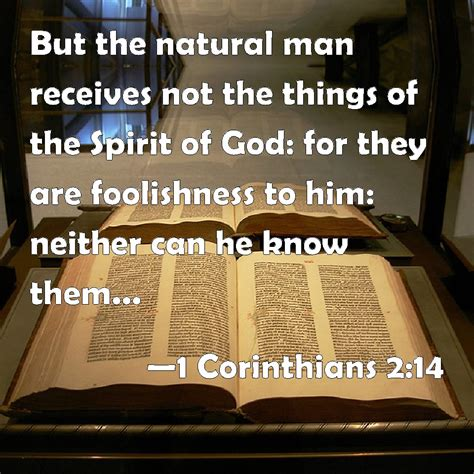 Image result for the natural mind cannot comprehend the things of God