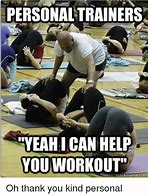 Image result for personal trainer girl memes