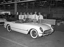 Image result for first corvette 1953