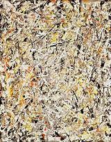 Image result for Jackson Pollock White Light
