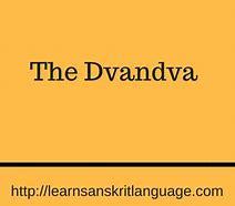 Image result for dvandva word
