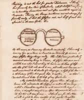 Image result for Benjamin Franklin wrote in a letter that he had invented bifocals.