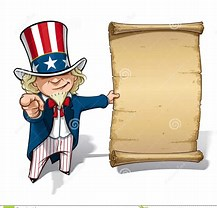 Image result for Uncle Sam Cartoon, I Want You