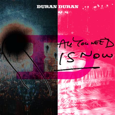 Image result for all you need is now album cover