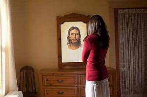 Image result for Jesus Christ Is the Persons Reflection in Mirror