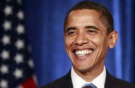 Image result for barack obama smiling