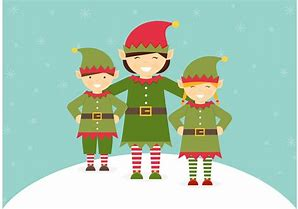 Image result for free pictures of christmas elves