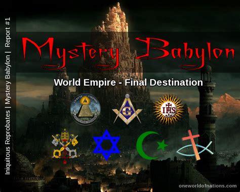 Image result for mystery babylon
