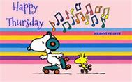Image result for snoopy happy thursday pictures