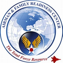 Image result for Airman and Family Readiness Center Logo. Size: 203 x 204. Source: www.offutt.af.mil