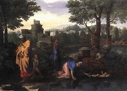 Image result for images moses in the bulrushes renaissance paintings