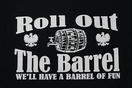 Image result for roll out the barrel images