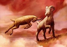 Image result for Medo Persian Empire Daniel Chapter 8 Ram with Horns Two