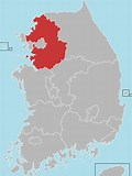Image result for Gyeonggi Province. Size: 120 x 160. Source: en.wikipedia.org