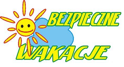Obraz znaleziony dla: bezpieczne wakacje logo