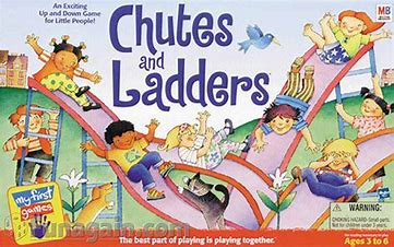 Image result for images of chutes and ladders game