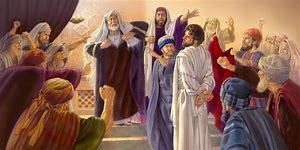 Image result for High Priest Jesus Questioned By