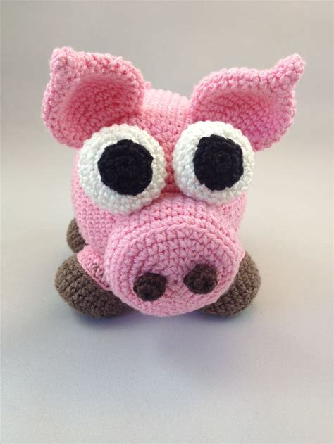 Bildresultat för virkad gris