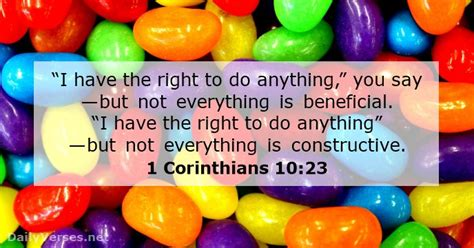 Image result for 1 corinthians 10:23